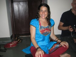 Smiling at my birthday party - where Indian fudge ruled!