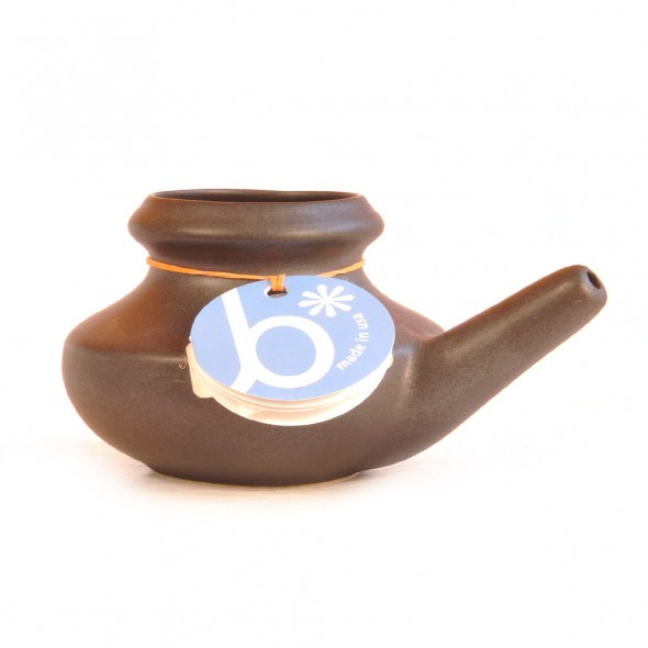 Neti Pots are amazing for clearing the sinus passages of excess phlegm.