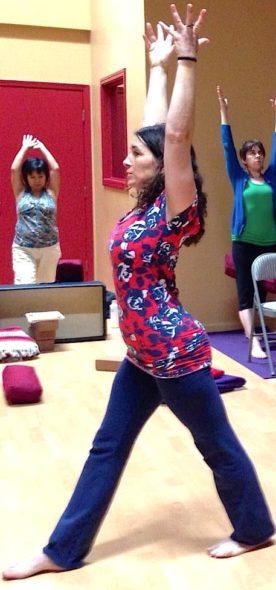 Teaching Yoga Photo
